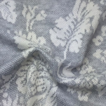 Polyester/Rayon/Cotton yarn dyed jacquard fabric