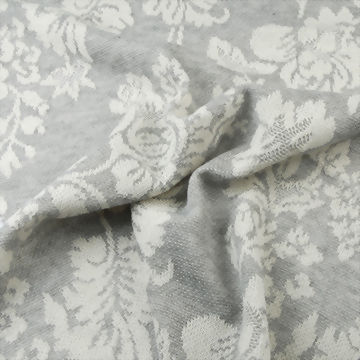 Polyester/Rayon/Cotton Jacquard Fabric