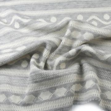 Polyester/Cotton/Rayon Jacquard Fabric