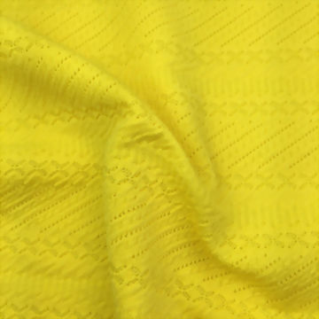 Polyester/Spandex knitted jacquard fabric