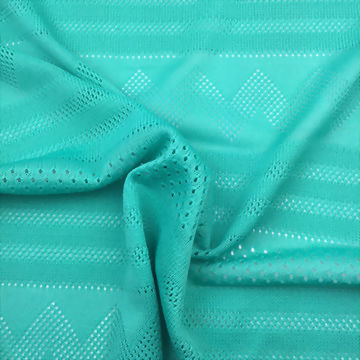 Mesh and Jacquard Fabric