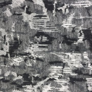 Polyester/Rayon/Spandex Knitted Jacquard fabric