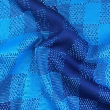 100% Polyester Knitted Jacquard Fabric
