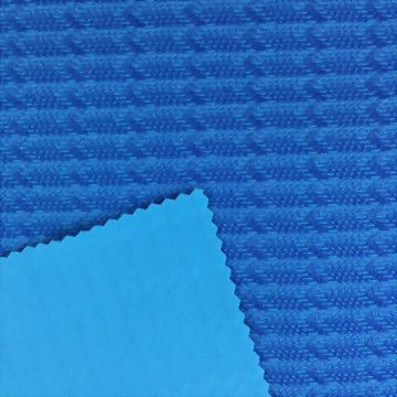 Poly/Spandex Double Jacquard Fabric with Wicking