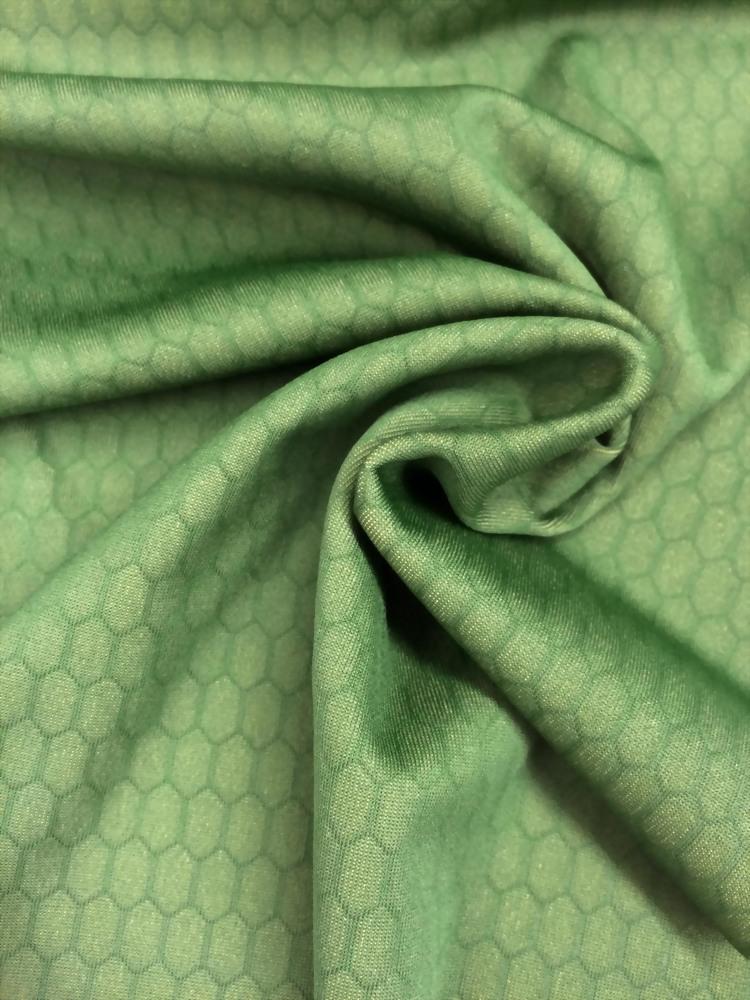 Poly/Spx comb pattern UV-cut yarn Jacquard