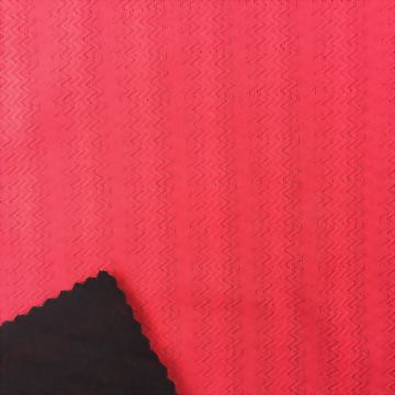 Polyester/Spandex Jacquard Fabric with Wicking
