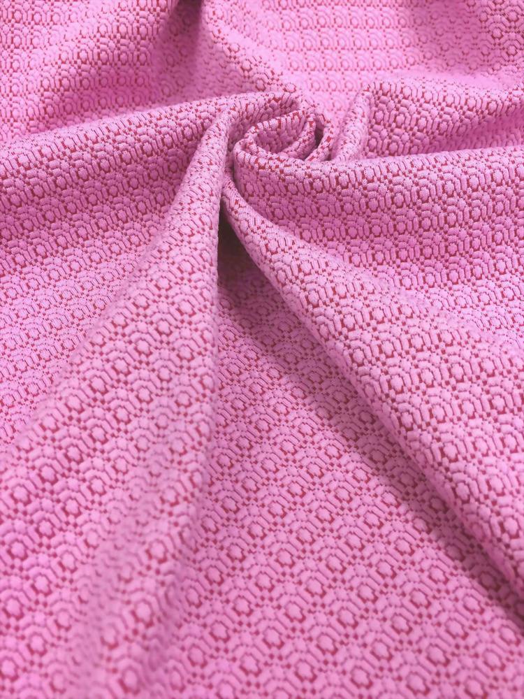 Polyester/Spandex Knit Jacquard Fabric