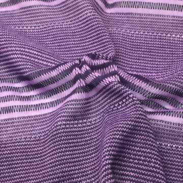 Polyester/Rayon Knitted Jacquard Yarn Dyed Fabric