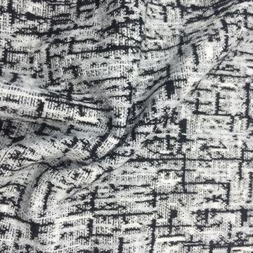 Polyester/Rayon/Cotton Yarn-dyed Jacquard fabric