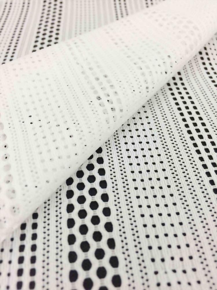 Nylon//Spandex Knit Crochet Fabric