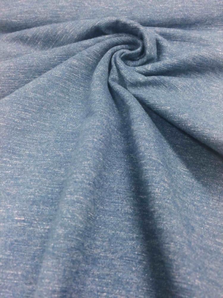 Cotton/Polyester/Rayon/Spandex knit Heather Jersey