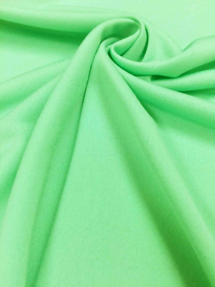 緯編半光紗單面布