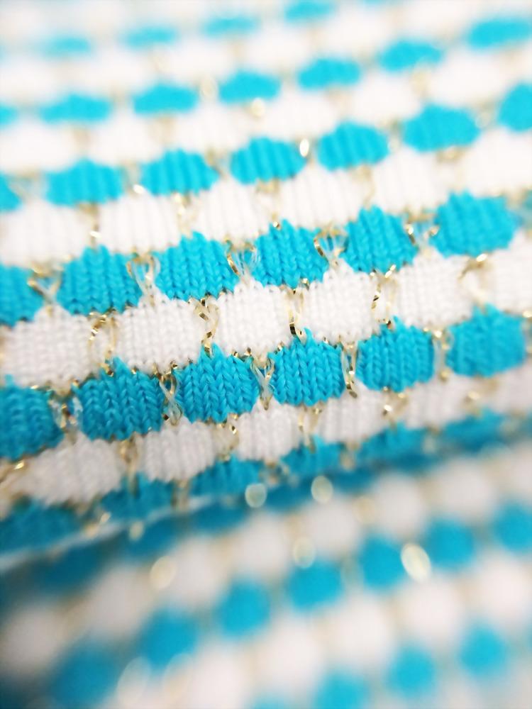 Nylon/ Polyester/Spandex/Lurex Knitted Jersey yarn dye Fabric