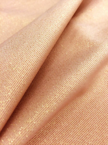 Nylon/Lurex/Spandex Knitted Jersey Fabric
