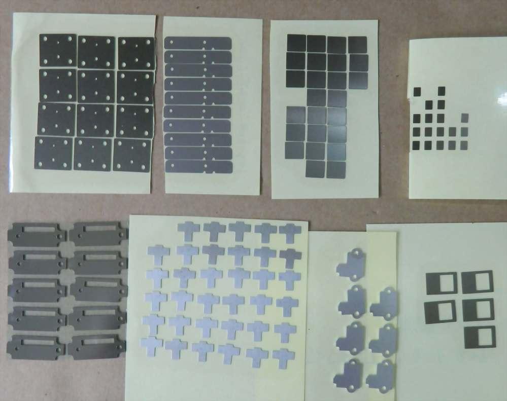 3C 产品零组件-補強钢片