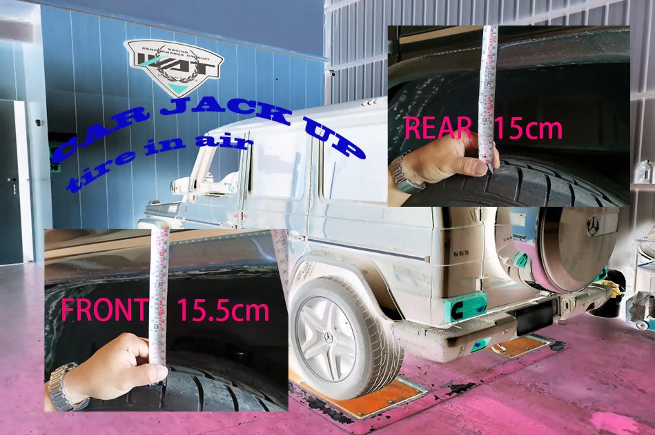 low 50mm type car lift