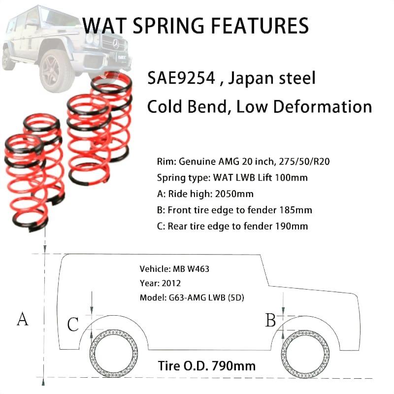 W463 spring