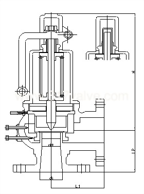 FULL BORE SAFETY RELIEF VALVE (SVF-20FA/SVF-20FLR)
