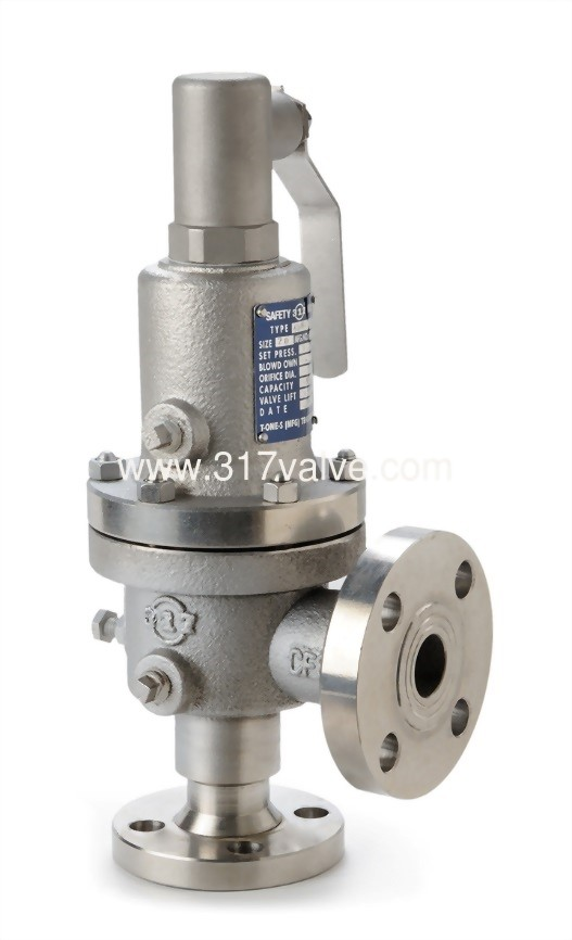 FULL BORE (CLOSED) SAFETY RELIEF VALVE – FLANGED END (SVF-450CLR)