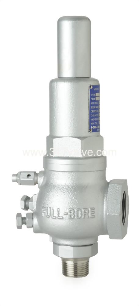 FULL BORE CAST IRON SAFETY RELIEF VALVE SCW*SCW (SVPF-10SA)