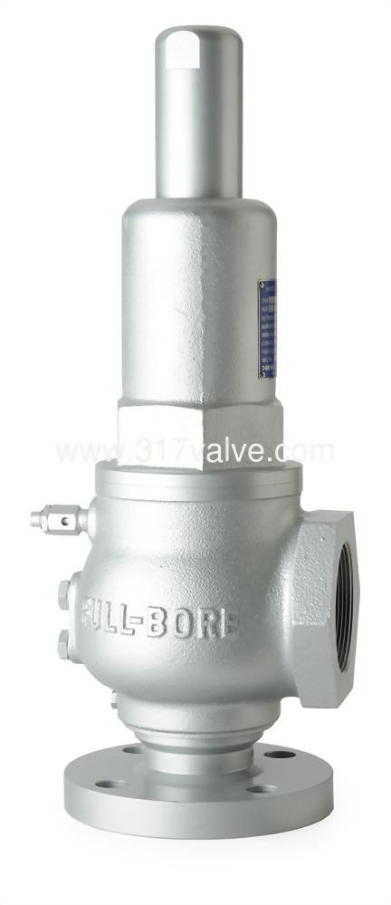FULL BORE CAST IRON SAFETY RELIEF VALVE FLG*SCW (SVPF-12SA)