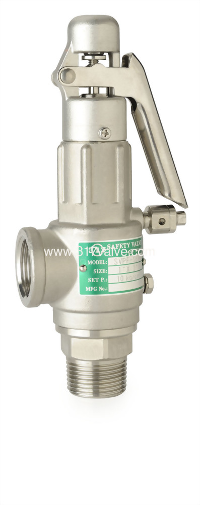 FULL BORE ST.ST.316 SAFETY RELIEF VALVE (SVPF-S6L)