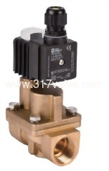 MULTIPLEX, PILOT OPERATED PISTON, CONDUCTIVE AND NORMALLY CLOSED FORGED BRASS SOLENOID VALVE 1/2  (PKS OF EXPLOSION PROOF EX II2 G EX E MB IIC T4 GB Series)