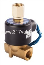 DIRECT-ACTING, CONDUCTIVE AND NORMALLY CLOSED SOLENOID VALVE (UA (3 Way) Series)