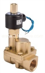 MULTIPLEX, PILOT OPERATED PISTON, CONDUCTIVE AND NORMALLY OPEN SOLENOID VALVE (UPS-NO Series)