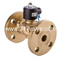 DIRECT, MULTIPLEX, CONNECTED DIAPHRAGM CONDUCTIVE AND NORMLLLY CLOSED BRONZE/BRASS SOLENOID VALVE (UWF (CONN.) Series)
