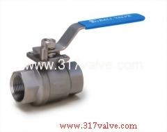 2-PC INVESTMENT CASTING BALL VALVE (FULL BORE) 1000 WOG (BV-2P6/BV-2PC/BV-2PM/BV-2PCM)