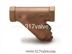 BRONZE Y-PATTERN STRAINER CLASS 150 (YS-BC6)