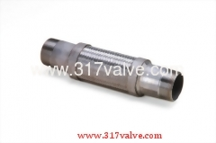 BRAIDED HOSE FLEXIBLE JOINT/ COMPENSATOR / FLEXIBLE CONNECTOR (JF-500T SERIES)