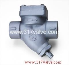 CAST IRON STEAM TRAP 16K WITH BLOW-OFF SCREWED END (ST-T3B)