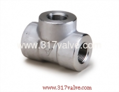 HIGH PRESSURE PIPE FITTING TEE (FG-TEE-TH)