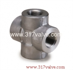 HIGH PRESSURE PIPE FITTING CROSS (FG-CRS-TH)