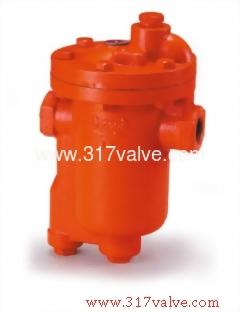 鑄鐵倒筒式空氣却水器 牙口 (ST-B3A)