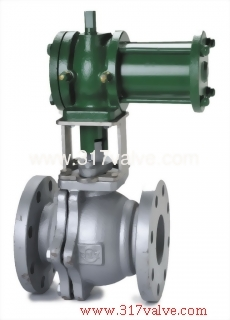 CYLINDER TYPE FLANGED BALL VALVE FLANGED END (CYD-BV13F / CYD-BV34F)