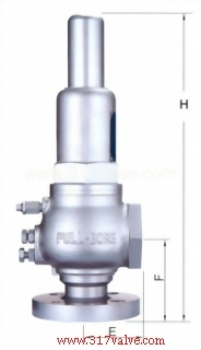 FULL BORE SAFETY RELIEF VALVE - FLG/SCW (SVF-20SA)