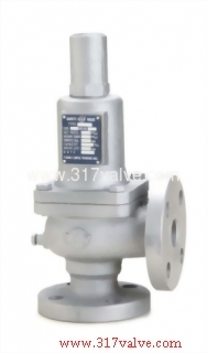 CAST IRON LOW LIFT SAFETY RELIEF VALVE FLANGED END (S3F-A)