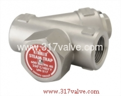 熱動式不鏽鋼溜水器 却水器 疏水閥 (UN-317)