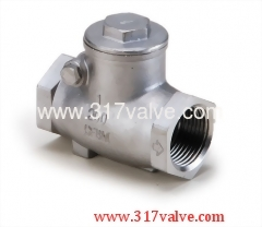 STAINLESS STEEL 316 SWING CHECK VALVE CLASS 200 (VTC)