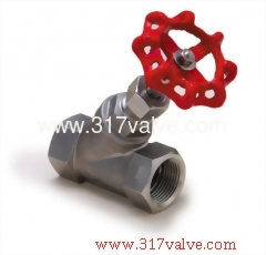 STAINLESS STEEL 316 SHUT-OFF VALVE CLASS 200 SCREWED END (VTS)