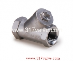 STAINLESS STEEL Y-STRAINER CLASS 600 SCREWED END (YS-R6S/YS-R4S)