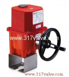 ELECTRIC ACTUATOR (UM-4 Series with Mounting Kits)
