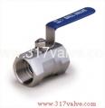 (BV-HX6/BV-HX2) 1-PC INVESTMENT CASTING BALL VALVE (HEXAGON TYPE) 1000 WOG