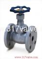 (DG-206/DG-207) DUCTILE IRON GLOBE VALVE CLASS 20K FLANGED END (SUS410 DISC/PTFE DISC) 1/2~2
