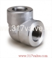 (FG-ELB90-TH) HIGH PRESSURE PIPE FITTING ELBOW 90 DEG