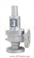 (S3F-A) CAST IRON LOW LIFT SAFETY RELIEF VALVE FLANGED END