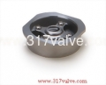 (VWC) STAINLESS STEEL 316 1-PC WAFER DISC CHECK VALVE